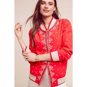 Arabella embroidered bomber